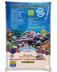 Bio Activ Live Aragonite Nature´s Ocean (saco de 4'5 kg). Arena blanca.