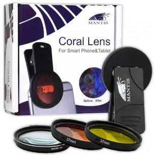 Coral Lens de Mantis