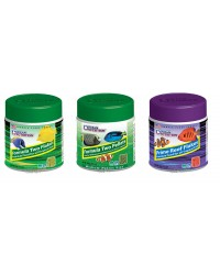 Pack Nº4 Ocean Nutrition: Two Flakes (71 gr), Two Pellets (200 gr) y Prime Reef Flakes (71 gr)
