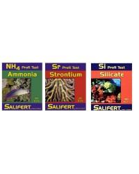 Salifert Pack Promoción Test Ammonio, Estroncio y Silicatos