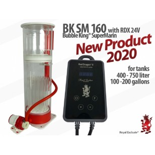 Skimmer Bubble King Supermarin 160 con Red Dragon X DC 24V Royal Exclusiv