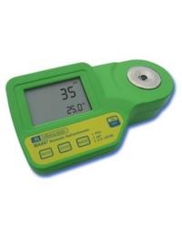 Medidor Salinidad Refractómetro MA887 MIlwaukee
