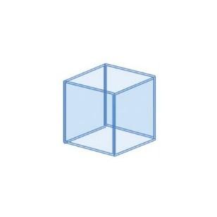 Urna cubic a medida para acuario 30x30x30