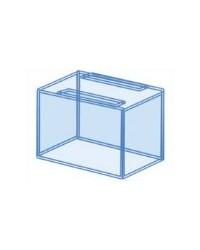 Urna reef a medida para acuario 110x60x60