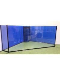 Urna de esquina a medida para acuario 60x60x50