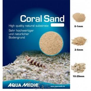 Arena para acuario marino Coral Sand 2 - 5 mm 10 kg Aqua Medic