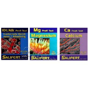 Salifert Pack Promoción Test Kh, Magnesio y Calcio